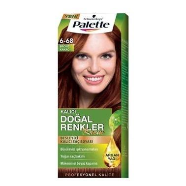 Palette  Doğal Renkler 6-68 Bronz Kakao Saç Boyası Bakır